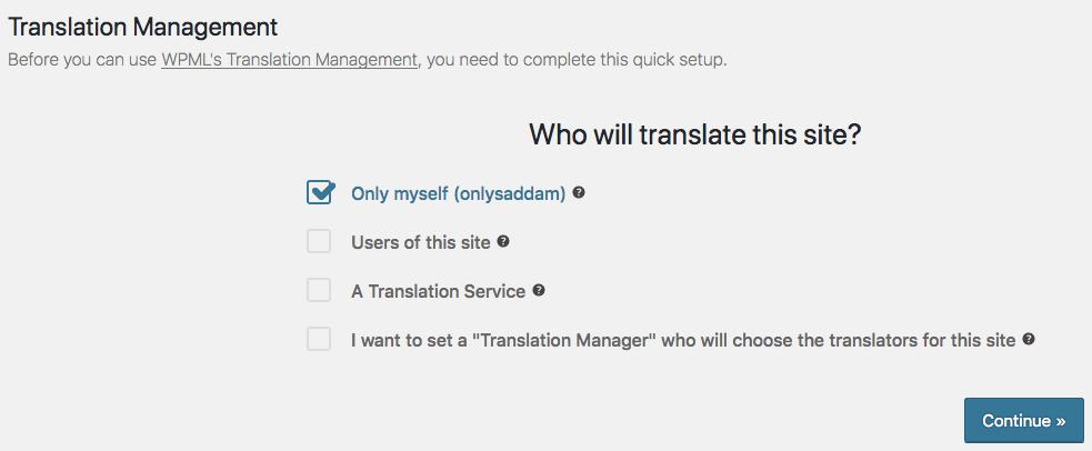 Assign translator