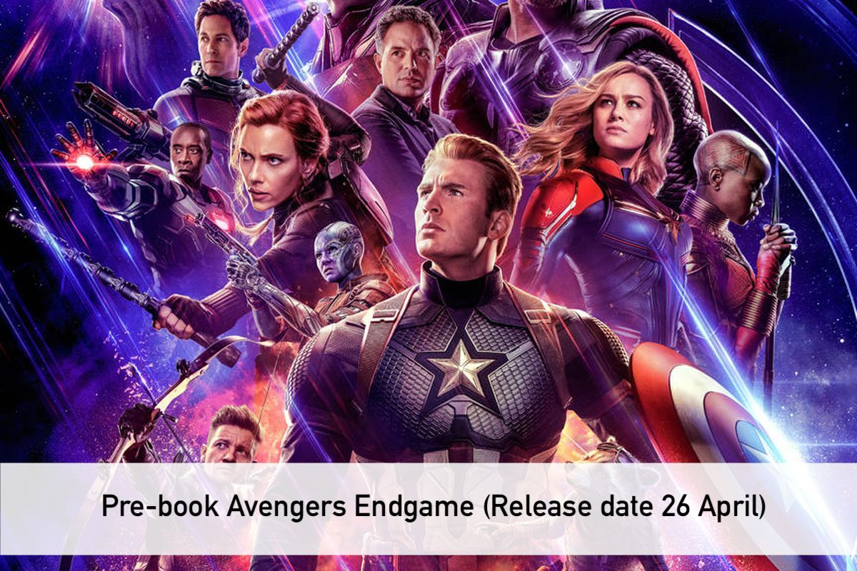 Avengers Endgame tickets price in india