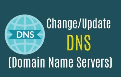 Change DNS records in godaddy