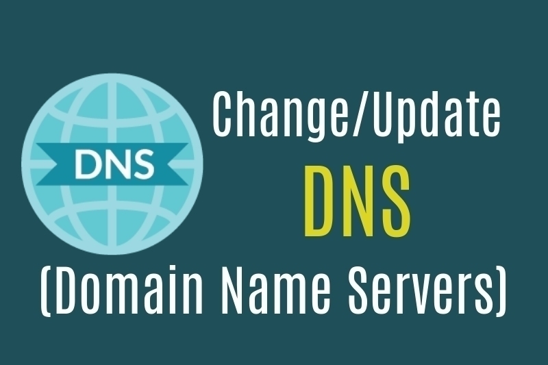 Change DNS records in godaddy