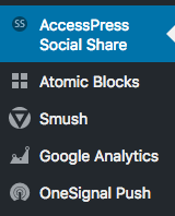 Accesspress social share button