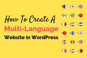 create a multi language website