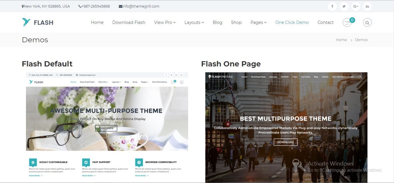 flash free wordpress themes 2019