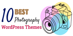 photography wordpress theme banner