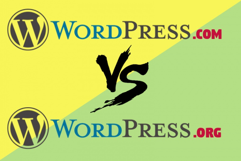 difference between wordpress.org and .com